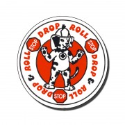 Stickers Stop Drop And Roll